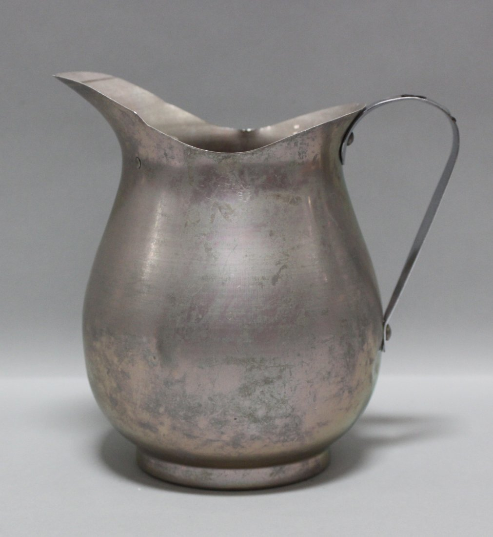 Antique Aluminum Ice Pitcher