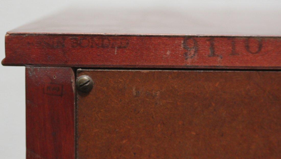 Rway Empire Chest Mahogany gold black inlay dresser - 8