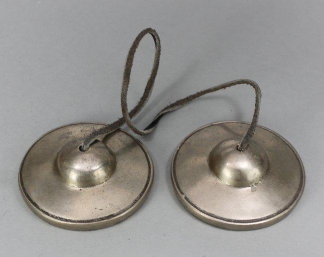 Set of Nepal Nickel Silver Tinsa Hand Chimes