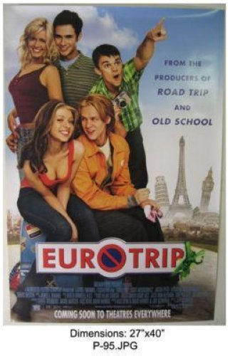 EUROTRIP MICHELLE TRACHTENBERG 27x40 MOVIE POSTER P95