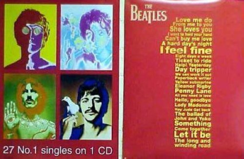 THE BEATLES 27 NUMBER 1'S 18x24 POSTER P947
