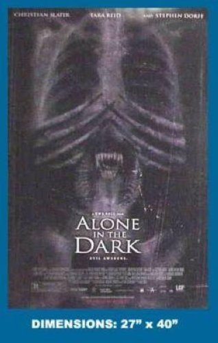 ALONE IN THE DARK MOVIE 27X40 POSTER P167