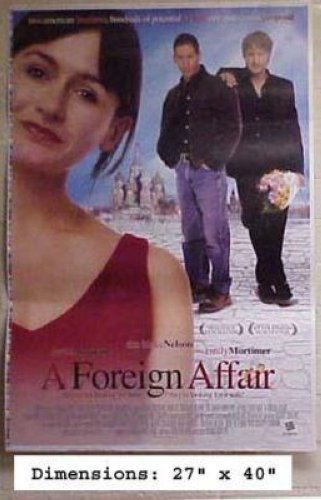 A FOREIGN AFFAIR - DAVID ARQUETTE EMILY MORTIMER 27x40