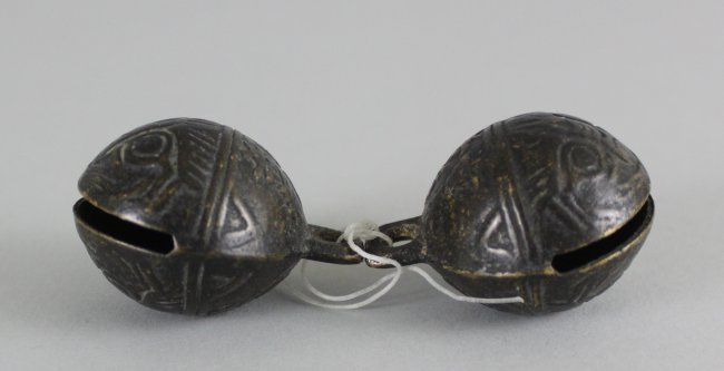 Chinese Tiger Chimes Chin Dynasty