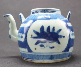 Antique Chinese Porcelain Chin Dynasty Teapot