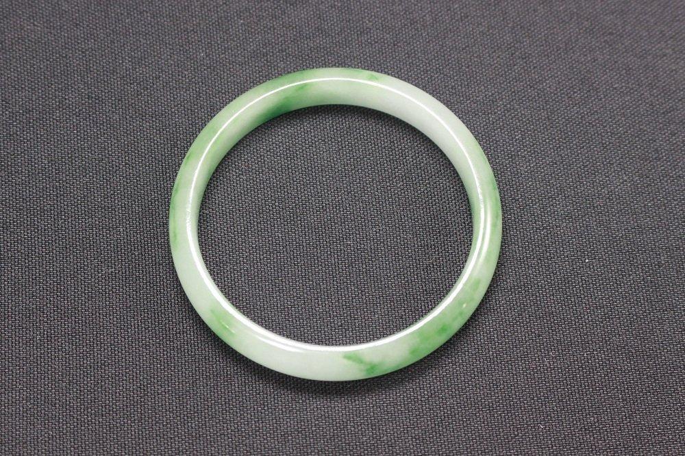 Chinese Antique Fine Jadeite Bangle - 3