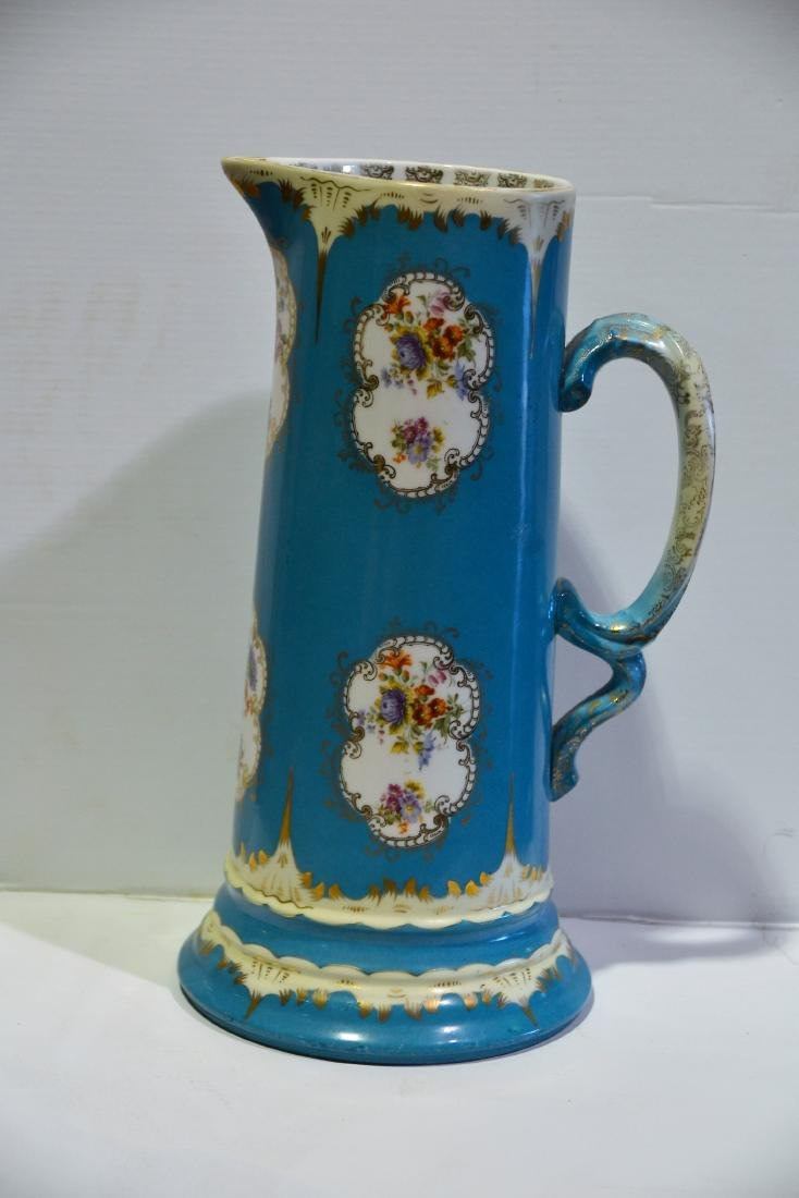 Austrian Hand Painted Pitcher