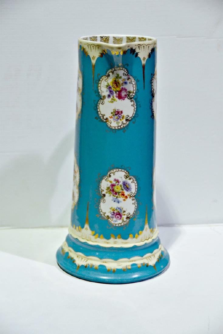 Austrian Hand Painted Pitcher - 2