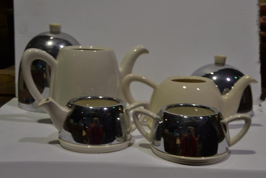 4 Pc Art Deco Tea Set - 2