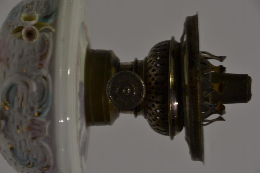 Meissen Boudoir Oil Lamp - 5