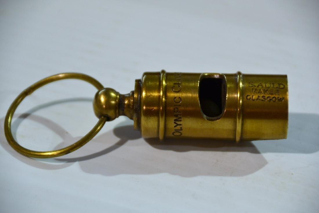 White Star Line Whistle - 4