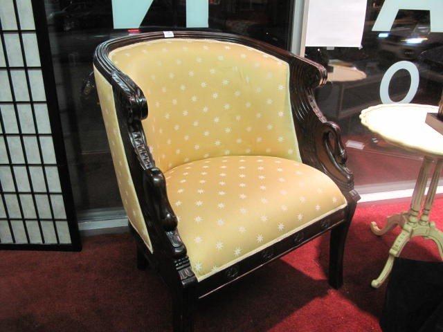 10: Mahogany Swan Chair
