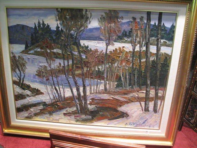 17: Armand Tatossian, oil on canvas 30x40 inches