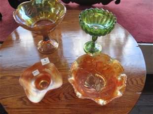 4 GLASS ITEMS