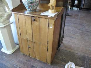 PINE LOW ARMOIRE