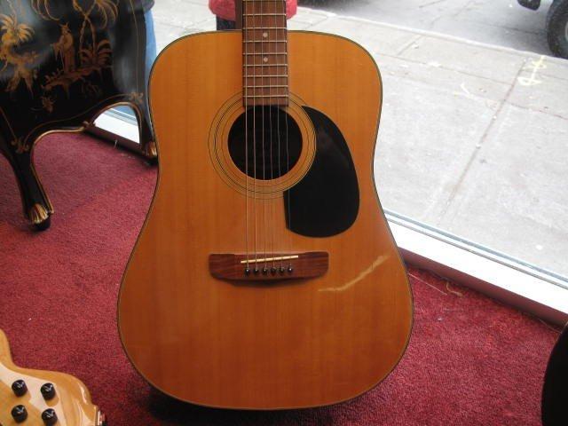 6: Acoustic guitar Fender