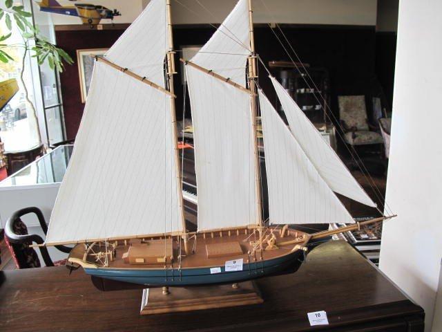 9: Sailing boat