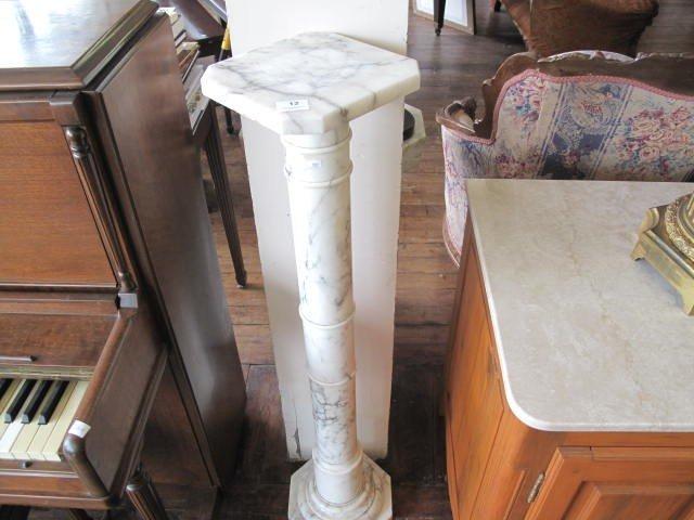 12: Marble column