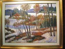 61: TATOSSIAN Armand - oil on canvas