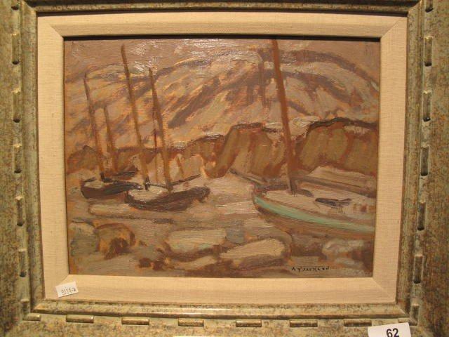 62: JACKSON A.Y.  - oil on panel