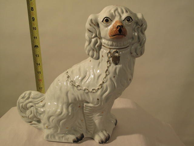 7: PORCELAIN DOG ORIENTAL STYLE