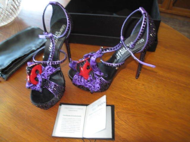 58: Paire de souliers Gianmarco Lorenzi, num. A1R/036