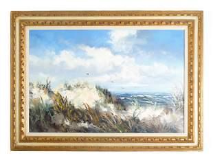 Willem Frederik Reinders Seascape, O/C Signed