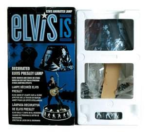 Elvis Is Decorated Animated Elvis Presley Lamp