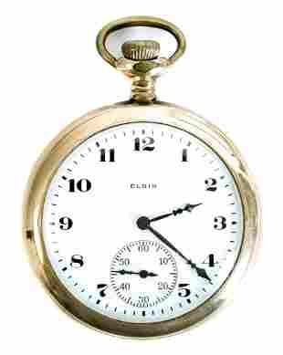 Elgin Grade 303 Model 3 Pocket Watch