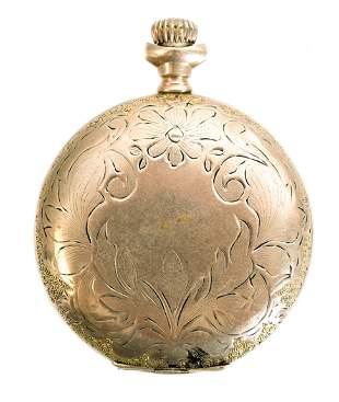 Waltham Model 1891 Grade Seaside Pocket Watch