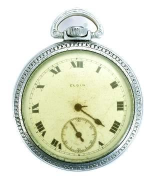 Elgin Grade 291 Model 7 Pocket Watch