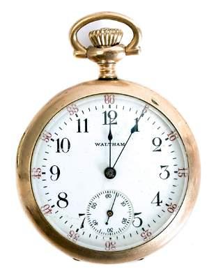 Waltham Grade No. 110 Model 1900 Pocket Watch