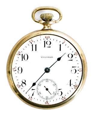 Waltham Model 1908 Grade No. 610 Pocket Watch