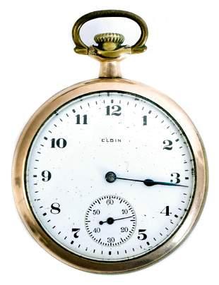 Elgin Model 7 Grade 291 Pocket Watch