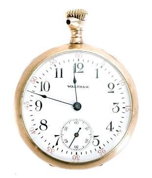 Waltham Grade No. 115 Model 1900 Pocket Watch