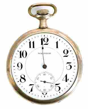 Waltham Model 1894 Grade No. 210 Pocket Watch