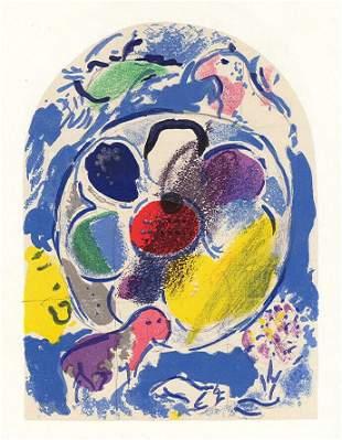 """Marc Chagall """"Tribe of Benjamin"""" Jerusalem Windows l"""