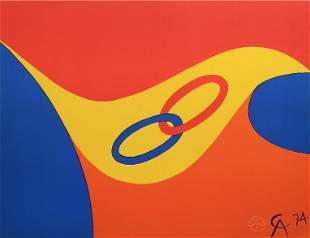 "Alexander Calder original lithograph ""Friendship"""