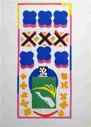"Henri Matisse lithograph ""Poissons Chinois"""