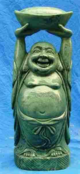 JADE HAPPY BUDDHA