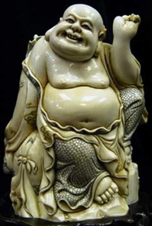 Ivory Laughing Buddha