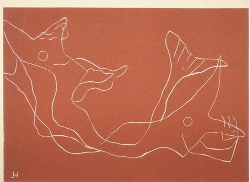 15: Henri Laurens linocut (1959 edition)