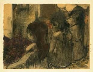"Edgar Degas ""Trois Femmes de dos"""