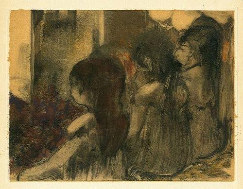 "55: Edgar Degas ""Trois Femmes de dos"""