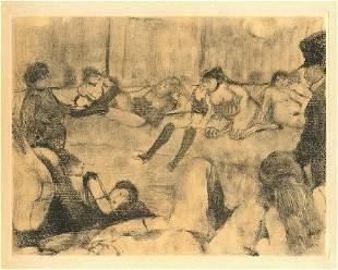 Edgar Degas (Interieur)