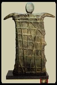 1311: Joan Miro Limited Edition Bronze - Man