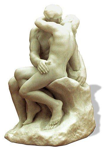 11: Auguste Rodin The Kiss Sculpture