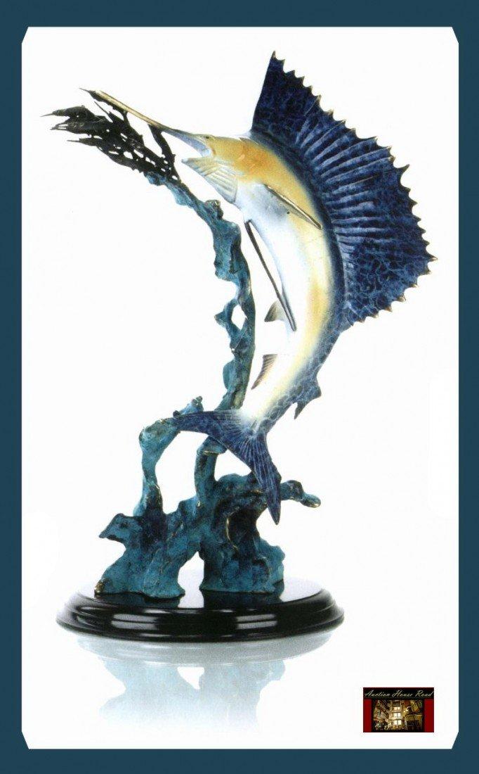 16: Blue Marlin Sculpture