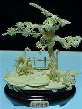 665: Bone Giraffs Jungle