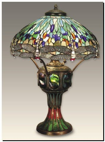 1A: Dragon Fly Table Lamp